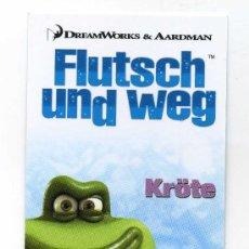Cine: FLUTSCH UND WEG. PROGRAMA-MARCAPAGINAS.. Lote 13277074