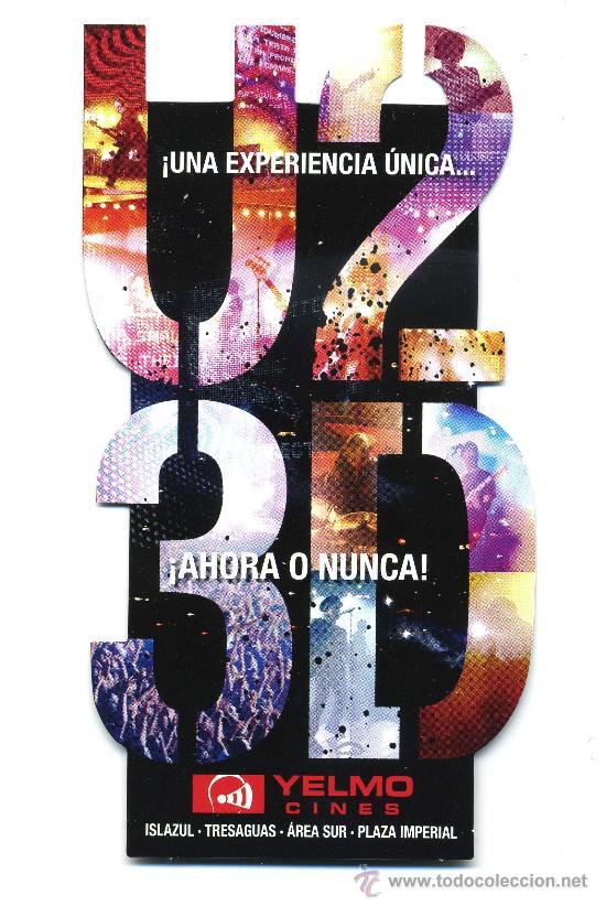 U2 3D. (Cine - Folletos de Mano - Musicales)