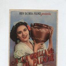 Cine: A LA ORILLA DE UN PALMAR. SENCILLO DE REY SORIA. Lote 13292450