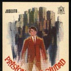 Cine: P-1539- PRISIONERO EN LA CIUDAD (JOSELITO - RAFAELA APARICIO - ERASMO PASCUAL - ANTONIO CASAS). Lote 22209731