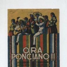 Cine: ORA PONCIANO.DOBLE DE REY SORIA.. Lote 19243172
