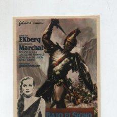 Cine: BAJO EL SIGNO DE ROMA. SENCILLO DE FILMAX.. Lote 19609447