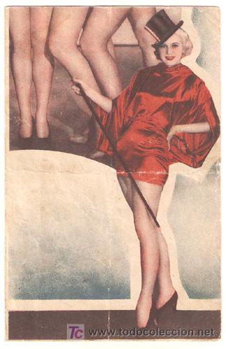 VAMPIRESAS 1936 PROGRAMA DOBLE WARNER DICK POWELL ADOLPHE MENJOU DICK POWELL GLORIA STUART (Cine - Folletos de Mano - Musicales)