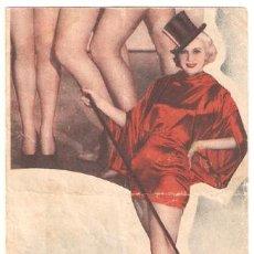 Cine: VAMPIRESAS 1936 PROGRAMA DOBLE WARNER DICK POWELL ADOLPHE MENJOU DICK POWELL GLORIA STUART. Lote 13645451