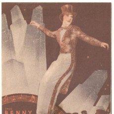 Cine: LA MELODIA DE BROADWAY 1936 PROGRAMA DOBLE MGM ROBERT TAYLOR ELEANOR POWELL JACK BENNY. Lote 17969457
