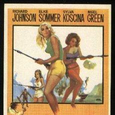 Cine: P-3251- MAS PELIGROSAS QUE LOS HOMBRES (RICHARD JOHNSON - ELKE SOMMER - SYLVA KOSCINA - NIGEL GREEN). Lote 22604927