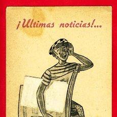Cine: ULTIMAS NOTICIAS, TROQUELADO, LEER DESCRIPCION , S1573. Lote 18758407