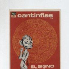 Cine: CANTINFLAS-EL SIGNO DE LA MUERTE. SENCILLO DE PELIMEX. ¡IMPECABLE!. Lote 13874221