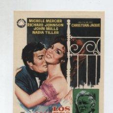 Cine: LOS AMORES DE LADY HAMILTON. SENCILLO DE IZARO FILMS.. Lote 13952124