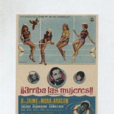 Cine: ¡¡ARRIBA LAS MUJERES!! SENCILLO DE CINEDIA.. Lote 13953963
