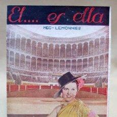 Cine: EL , ES ELLA, (VIKTOR UND VIKTORIA) PROGRAMA CINE DOBLE MEG LEMONNIER, 1933. Lote 13993900