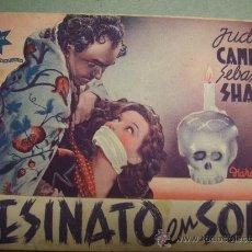 Cine: ASESINATO EN SOHO CINE NEGRO. Lote 27454177