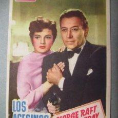 Cine: LOS ASESINOS ACUSAN CINE NEGRO. Lote 14189319