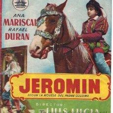 Cine: JEROMÍN - ANA MARISCAL, RAFAEL DURÁN - DIRECTOR LUIS LUCÍA - CIFESA. Lote 26264316
