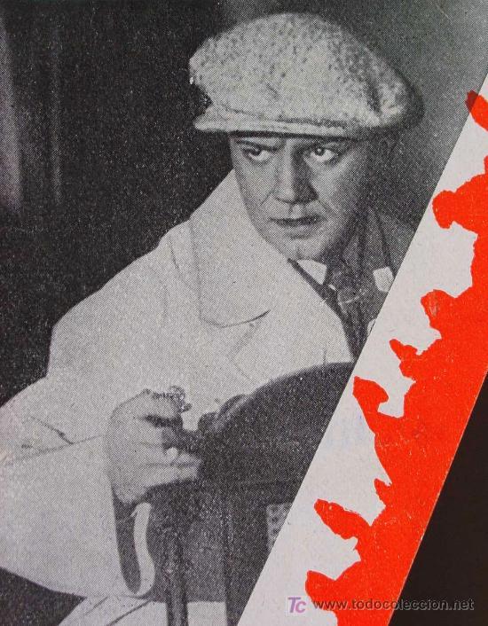 AGENTE SECRETO, RENACIMIENTO FILMS, PROGRAMA CINE TROQUELADO, HARRY PIEL, 1932, GEHEIMAGENT, DER (Cine - Folletos de Mano - Suspense)