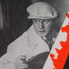 Cine: AGENTE SECRETO, RENACIMIENTO FILMS, PROGRAMA CINE TROQUELADO, HARRY PIEL, 1932, GEHEIMAGENT, DER. Lote 14395245