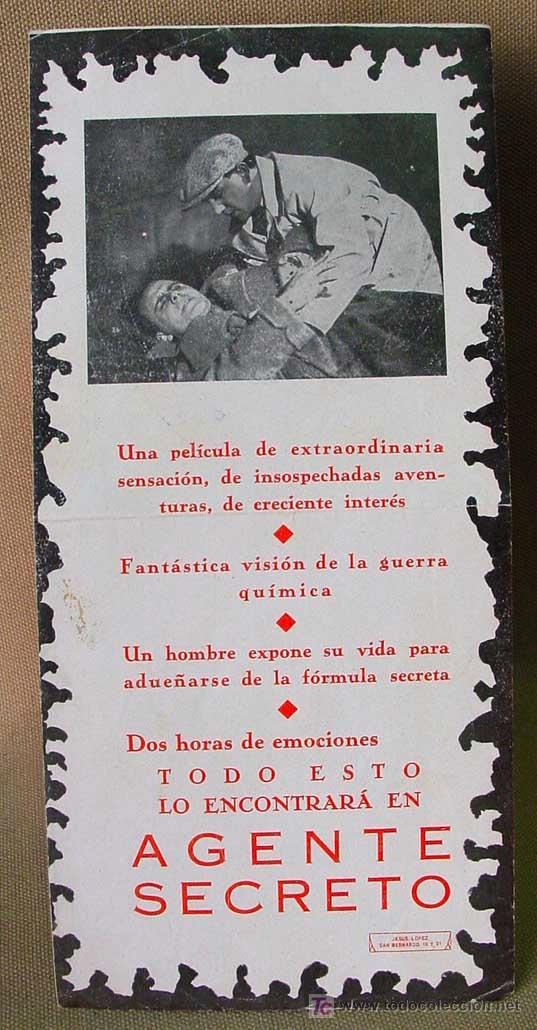 Cine: AGENTE SECRETO, RENACIMIENTO FILMS, PROGRAMA CINE TROQUELADO, HARRY PIEL, 1932, GEHEIMAGENT, DER - Foto 7 - 14395245