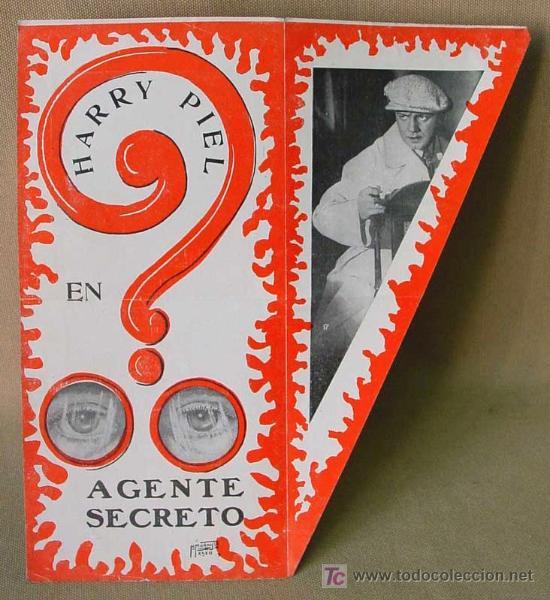 Cine: AGENTE SECRETO, RENACIMIENTO FILMS, PROGRAMA CINE TROQUELADO, HARRY PIEL, 1932, GEHEIMAGENT, DER - Foto 3 - 14395245