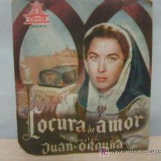 Cine: + LOCURA DE AMOR, AURORA BAUTISTA CIFESA, DEFECTUOSO. Lote 14458711