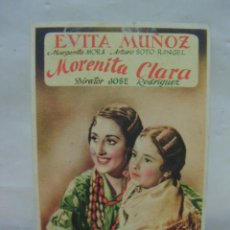 Cine: + MORENITA CLARA, CINE ELISEOS, ZARAGOZA.. Lote 14458736