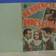 Cine: + PENDENCIERO INDESEABLE.. Lote 14468454