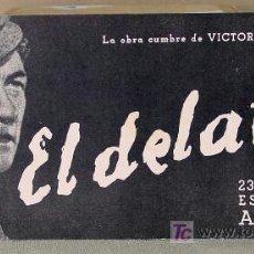 Cine: RARO, EL DELATOR, (THE INFORMER), RADIO FILMS, PROGRAMA CINE, 1935, JOHN FORD. Lote 14471339