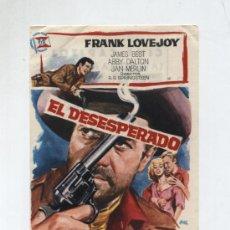 Cine: EL DESESPERADO. SENCILLO DE SUEVIA FILMS. CINE CAPITOL (MÁLAGA). Lote 14483405
