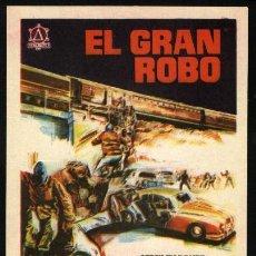 Cine: P-3289- EL GRAN ROBO (ROBBERY) STANLEY BAKER - JOANNA PETTET - JAMES BOOTH. Lote 23618234