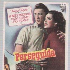 Cine: PERSEGUIDA. SENCILLO DE R K O RADIO.. Lote 14731628