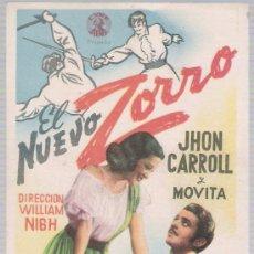 Cine: EL NUEVO ZORRO. SENCILLO DE CYRE FILMS.. Lote 14732417