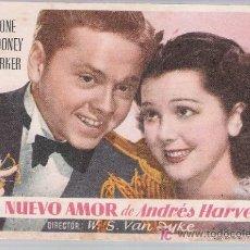 Cine: UN NUEVO AMOR DE ANDRÉS HARVEY. SENCILLO DE MGM.. Lote 14732436