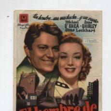 Cine: EL HOMBRE DE SAN FRANCISCO. SENCILLO DE U FILMS. CINE ESPAÑOL - CAMBRILLS. Lote 14757333