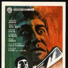 Cine: P-1270- LA CÁMARA DE LOS HORRORES (CHAMBER OF HORRORS) PATRICK O'NEAL - CESARE DANOVA. Lote 23944419