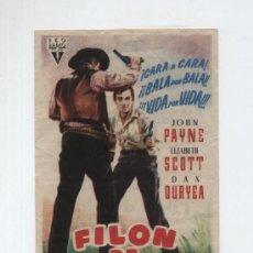 Cine: FILÓN DE PLATA. SENCILLO DE RKO RADIO. CINE DELICIAS.. Lote 14805207