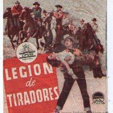 Cine: LEGIÓN DE TIRADORES. SENCILLO DE PARAMOUNT.. Lote 14830396