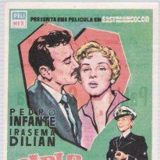 Cine: PABLO Y CAROLINA. SENCILLO DE PELI-MEX. CINE GOYA - MÁLAGA 1958. Lote 14866378