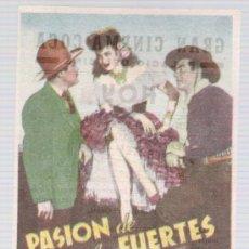 Cine: PASIÓN DE LOS FUERTES. SENCILLO DE 20TH CENTURY FOX. GRAN CINEMA COCA - VALLADOLID.. Lote 14866507