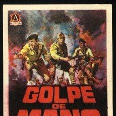 Cine: P-0070- GOLPE DE MANO (SIMÓN ANDREU - DANIEL MARTÍN - RAFAEL HERNANDEZ). Lote 262020640