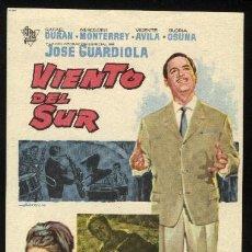 Cine: P-0599- VIENTO DEL SUR (JOSÉ GUARDIOLA - RAFAEL DURÁN - FERNANDO LEÓN - MERCEDES MONTERREY). Lote 24189974