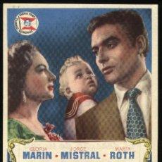 Cine: P-3998- EL DERECHO DE NACER (CINE FRONTON) GLORIA MARIN - JORGE MISTRAL - MARTA ROTH. Lote 278548813