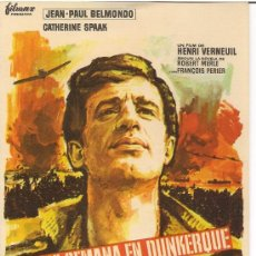 Cine: FIN DE SEMANA EN DUNKERQUE. BELMONDO. Lote 15127509