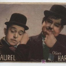 Cine: SATAN LAUREL Y OLIVER HARDY.PROGRAMA DE MGM.AL DORSO LAUREL Y HARDY EN EL OESTE. TEATRO DUQUE DE RI-. Lote 20345272