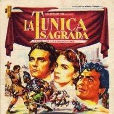 Cine: LA TUNICA SAGRADA. Lote 24008440