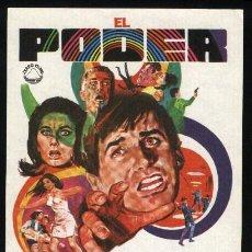 Cine: P-0880- EL PODER (THE POWER) (GEORGE HAMILTON - SUZANNE PLESHETTE - YVONNE DE CARLO). Lote 262429085