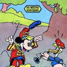 Cine: PROGRAMA DE MANO WALT DISNEY MICKEY MOUSE EN CONCIERTO DE BANDA PUBLI-CINEMA AÑO 35-36. Lote 15355704