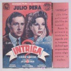 Cine: INTRIGA. DOBLE DE HÉRCULES FILMS.. Lote 20462278