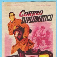 Cine: CORREO DIPLOMÁTICO. TYRONE POWER, PATRICIA NEAL, KARL MALDEN. DIR. HENRY HATHAWAY. CINE ESPAÑOL.. Lote 15558702