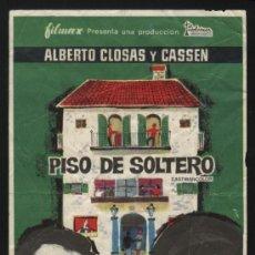 Cine: P-4413- PISO DE SOLTERO (CINE ECHEGARAY - MALAGA) ALBERTO CLOSAS - CASSEN -, JOSÉ RUBIO. Lote 25109287