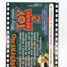 Cine: TOY STORY 2. PROGRAMA MARCAPAGINAS.. Lote 75698849