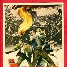 Foglietti di film di film antichi di cinema: EL ALAMO , SENCILLO , CON CINE TURIA VALENCIA , PMD 694. Lote 239563560